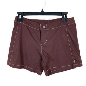 PrAna Outdoor Stretch Hiking Shorts in Brown